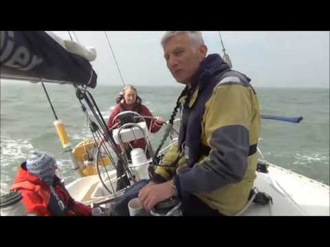 Sailing from Conwy to Dublin in a Sigma 38
