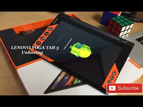 "Hindi | Lenovo Yoga Tab 3 : 8"" (WiFi + 4G LTE + Calling) Unboxing & Hands On Review. ✔"