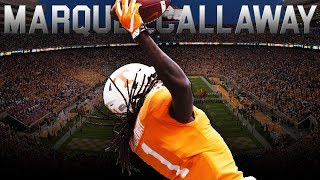 Most Underrated WR in the SEC - Marquez Callaway Tennessee Highlights