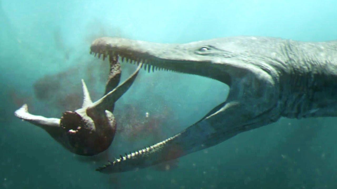 Predator x le reptile g ant des profondeurs plan te - Dinosaure marin carnivore ...