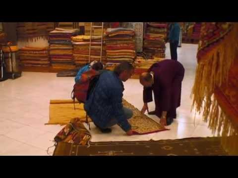 How to barter for Textiles in Tangier, Morocco