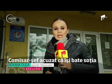 Comisarul şef de la Direcţia Generală Anticorupţie din Călăraşi este acuzat că își bate so