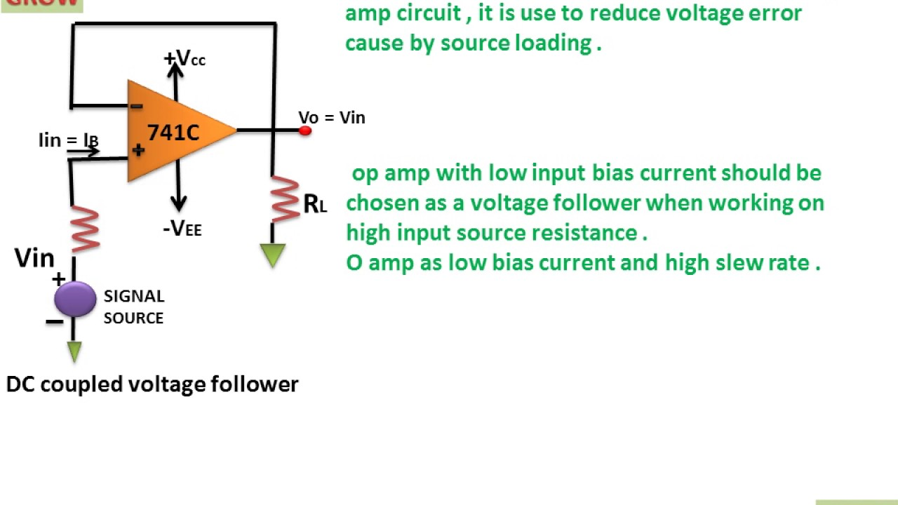 Very High Input Impedance Circuit Learn And Grow Current Amplifier Application Need Low Bias
