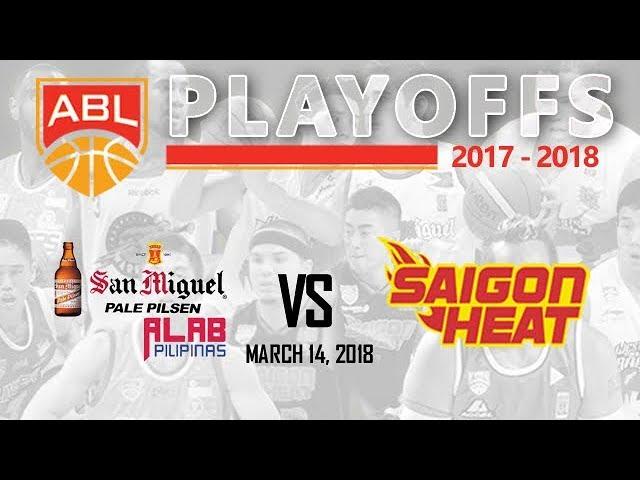 Alab Pilipinas vs. Saigon Heat   ABL Livestream - March 14, 2018