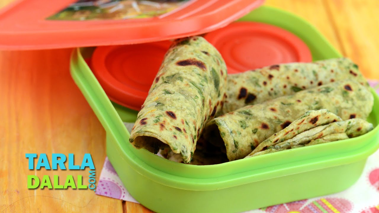 Paushtic paratha healthy recipe for kids by tarla dalal youtube forumfinder Images