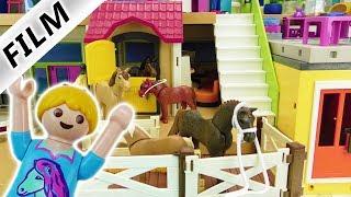 Playmobil Film deutsch | Luxusvilla wird zum Ponyhof | Familie Vogels eigener Pferdehof Kinderserie