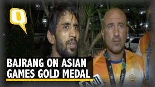 Asian Games: Bajrang Punia on His First Gold at the Asiad | The Quint