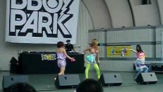 2009 8/22(sat)に行われた『B BOY PARK 2009』 R&B Live Show Case の「...