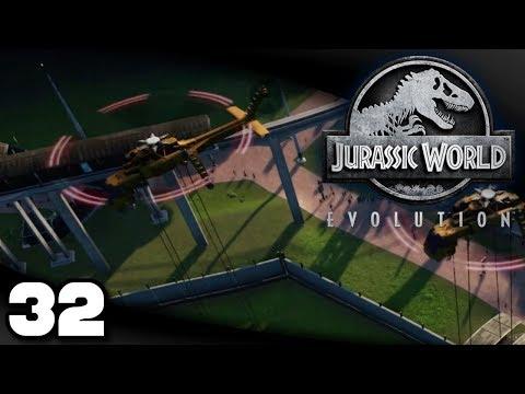 Jurassic World Evolution - Ep. 32: Transport Woes