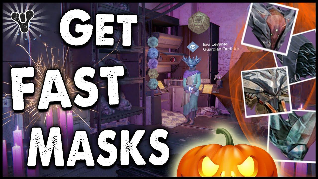 Destiny: How to Farm for Halloween Masks, & Halloween Materials ...