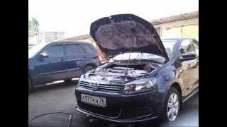 Моем под капотом VW поло седан(, 2014-05-26T21:48:49.000Z)
