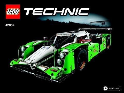 Lego Technic 42039 24 Hours Race Car Instructions A Model Youtube