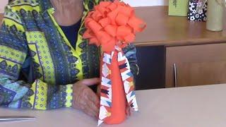 Gift Wrap Stunning Bottle Wrap