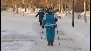 Уроки скандинавской ходьбы