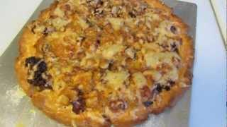 Gluten Free Onion, Bacon And Butternut Tart