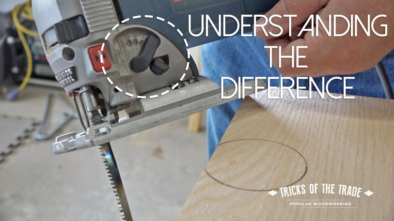 Jigsaw Orbital Blade Settings Tricks Of The Trade Youtube