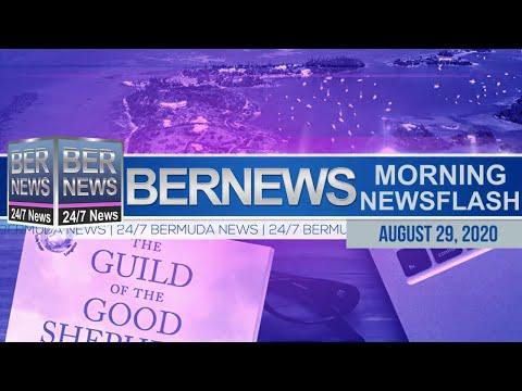Bermuda Newsflash For Saturday, Aug 29, 2020