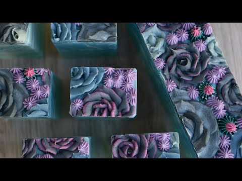 Lush Succulent Soap Making | Piping Succulents