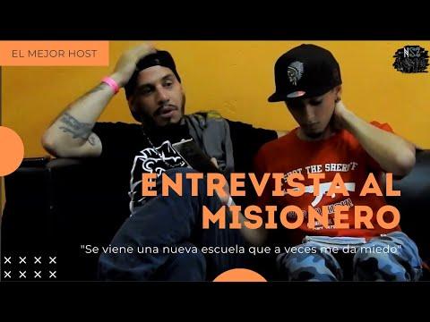 """Entrevista al Misionero/""""El mejor host"""" """"Se viene una nueva escuela que a veces me da miedo"""""""