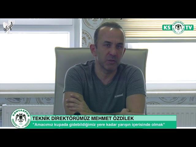 Teknik Direktörümüz Mehmet Özdilek'ten ZTK kura değerlendirmesi ve taraftarlarımıza çağrı