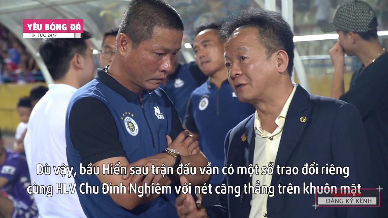 Bầu Hiển gặp riêng HLV Chu Đình Nghiêm, động viên các cầu thủ vượt qua khó khăn