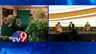 Ivanka Trump interacts with Nirmala Seetharaman -  Tv9 Today