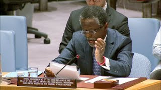 Parfait Onanga-Anyanga briefing the Security Council thumbnail