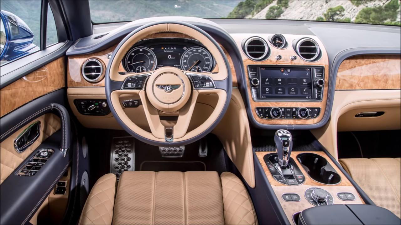 2017 Bentley Bentayga Interior Review