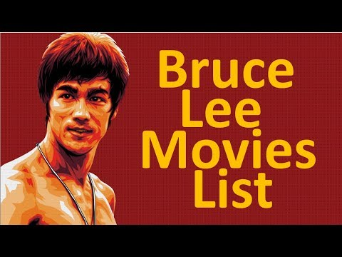 Bruce lee all movies list (1941 - 1973) - YouTube