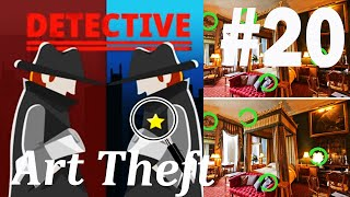 Find The Differences - The Detective Answers: Art Theft Level 1- 10