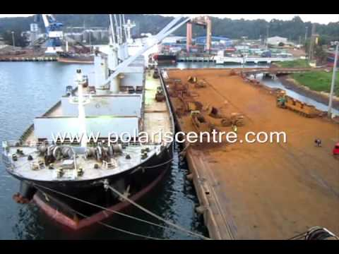 Bulk Carrier (Handy size) Loading Operation