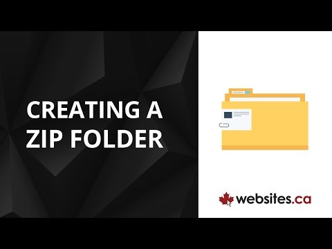 How to Create a Compressed (ZIP) Folder to Send Multiple Files