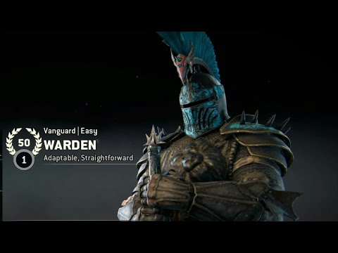 [FOR HONOR] WORLDS FIRST REPUTATION 50 WARDEN! [JOIN THE DISCORD!]