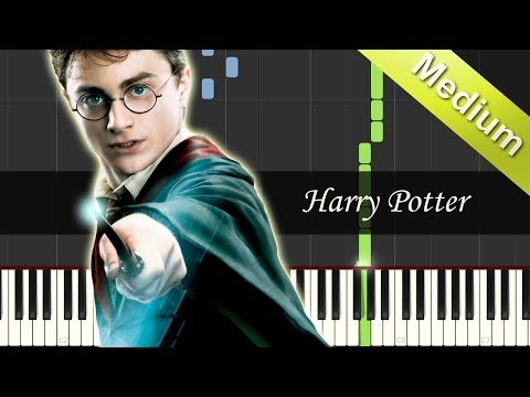 Harry Potter - Hedwig's Theme Song - EASY Piano Songs Tutorial (Synthesia/Sheet Music) thumbnail