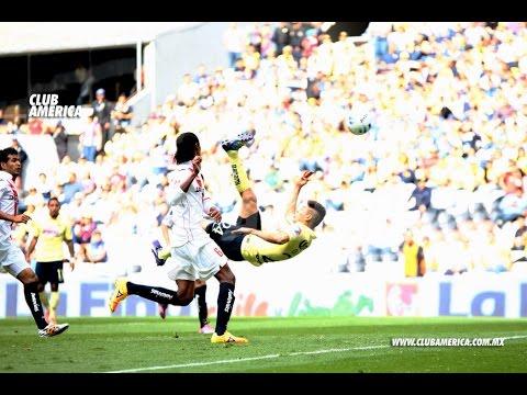 Goles América 3-2 Monarcas Morelia Jornada 5 Liga Mx Apertura 2014