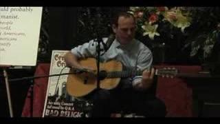 Greg Graffin - Suffer - Harvard Memorial Church