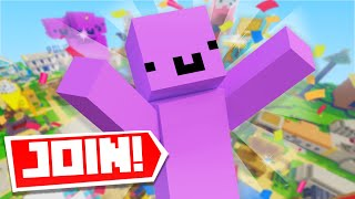 My NEW Minecraft Server! (JOIN NOW)