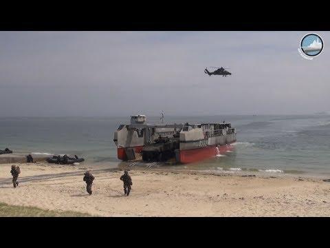 Catamaran 2018: Large Scale French-British Amphibious Exercise