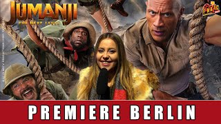 Jumanji: The Next Level - Premiere Berlin | Dwayne Johnson | Kevin Hart | Jack Black