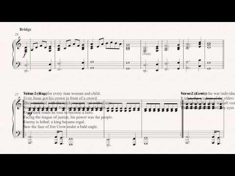 469 Mb Free Glory John Legend Piano Sheet Music Pdf Mp3 Top