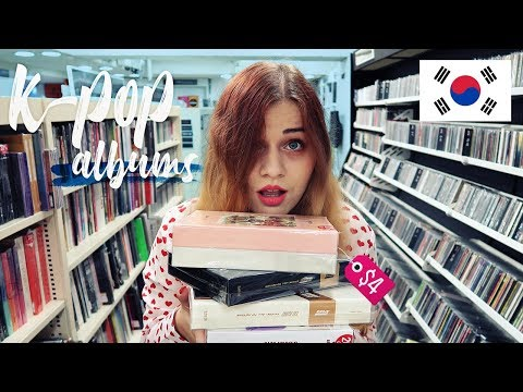 K-POP ALBUMS FOR $4 😲 Cheap store in Korea