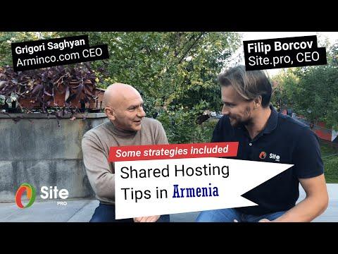 Shared Hosting Tips In Armenia