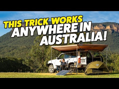 How To Find Free Campsites In Your Backyard Australia Wide