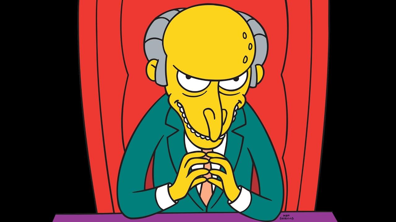 Mr Burns Ausgezeichnet