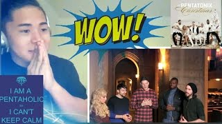 [Official Video] Silent Night (Live) - Pentatonix REACTION (NEW PENTAHOLIC)