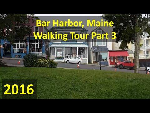 Bar Harbor Walking Tour Pt. 3, Sep. 2016