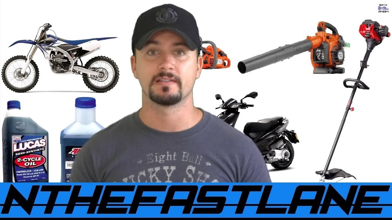 How To Mix 2 Stroke Oil
