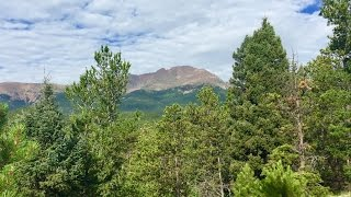 Manitou Springs to Pikes Peak - Colorado 14er Dayhike