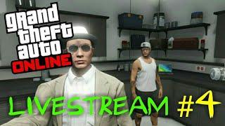 LiveStream #4 GTA V ONLINE ( PS3 ) COM O PESSOAL