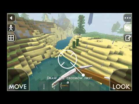 Играем в SurvivalCraft Demo #1